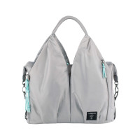 Wickeltasche - Green Label Neckline Bag POP, Grey