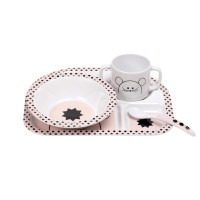 Kindergeschirr - Dish Set, Little Chums Mouse