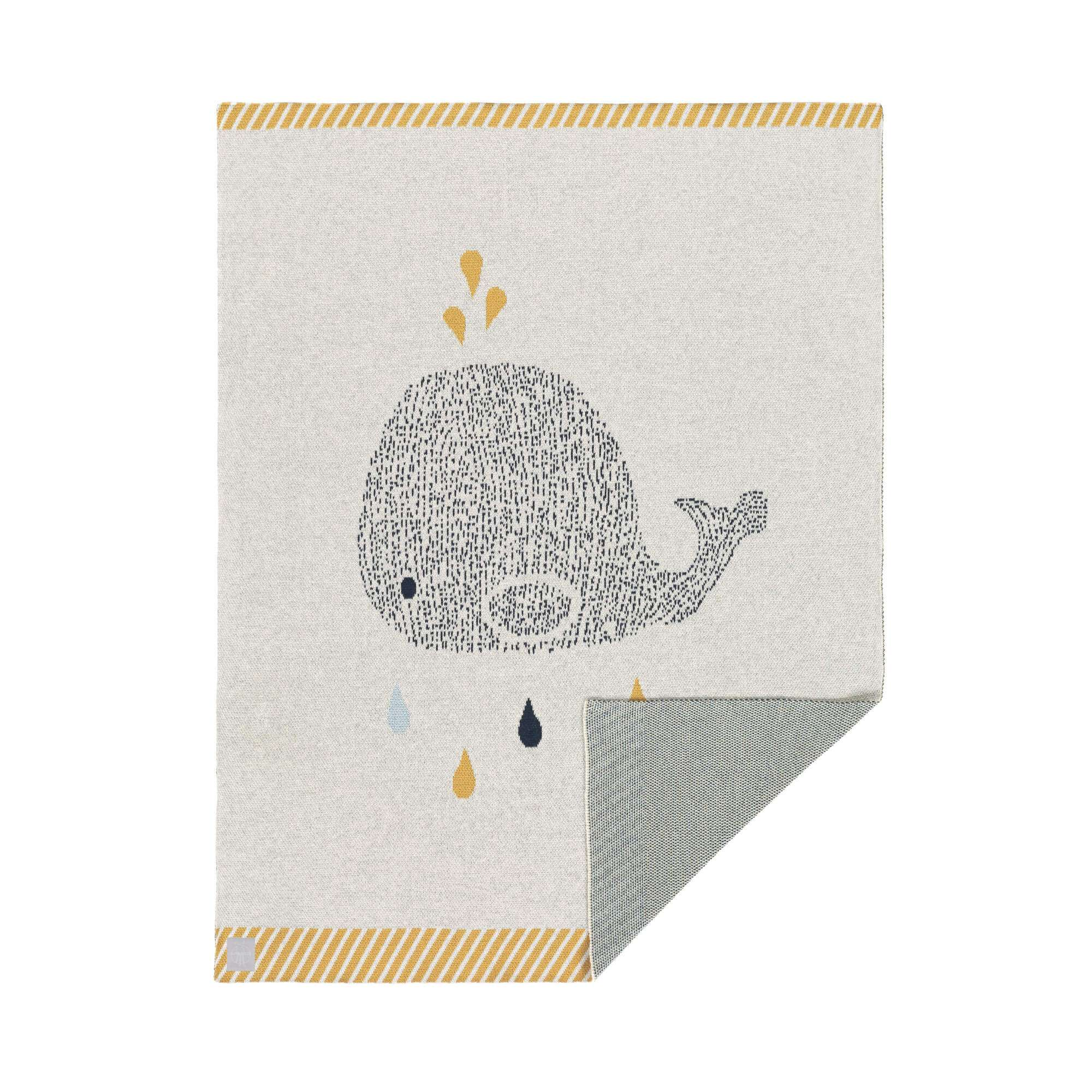 4e808095a81 Lassig knitted baby blanket gots little water whale lassig usa jpg  2000x2000 Baby moon cap 1009