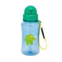 Trinkflasche Drinking Bottle Wildlife Rhino
