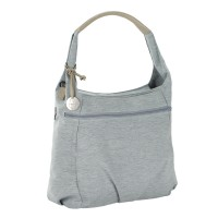 Wickeltasche Green Label Hobo Bag, Grey