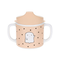 Schnabeltasse - Dish Cup Melamin, Little Spookies Peach