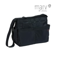 Wickeltasche Marv Shoulder Bag , Black