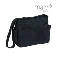 Wickeltasche Marv Shoulder Bag, Black