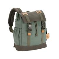 Kinderrucksack Vintage Little one & me Backpack Small, Olive