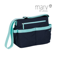 Wickeltasche Marv Shoulder Bag, Blue