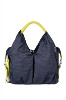 Wickeltasche Neckline Bag, denim blue