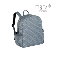 Wickelrucksack Marv Backpack, Tiles Grey