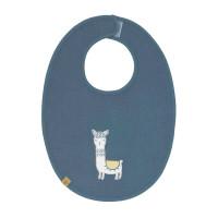 Lätzchen - Bib Waterproof Medium, Glama Lama Blue