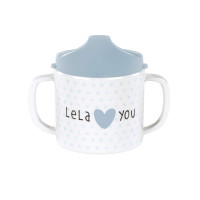 Trinklernbecher - Sippy Cup, Lela Light Blue