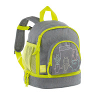 Kinderrucksack -  Mini Backpack, About Friends Mélange Grey