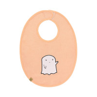 Lätzchen - Bib Waterproof Medium, Little Spookies Peach