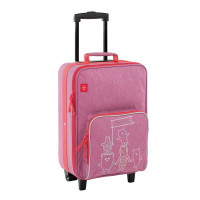 Kinderkoffer - Trolley, About Friends Mélange Pink