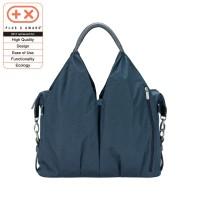 Wickeltasche Green Label Neckline Bag Spin Dye, Blue Mélange