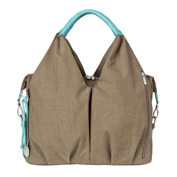 ac2a954145 Lassig Diaper Bag - Green Label Neckline, Taupe | LASSIG USA