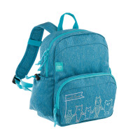 Kinderrucksack -  Medium Backpack, About Friends Mélange Blue