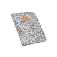 Windeltasche - Changing Pouch, Dotted Offwhite