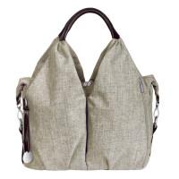 Wickeltasche Neckline Bag, choco mélange