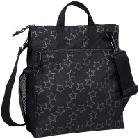 Buggy Bag Reflective Star black