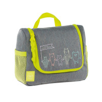 Kulturbeutel -  Mini Washbag, About Friends Mélange Grey
