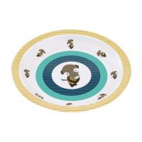 Kinderteller Plate Melamin, Wildlife Meerkat
