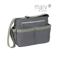 Wickeltasche Marv Shoulder Bag , Grey