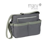 Wickeltasche Marv Shoulder Bag, Grey