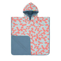 Kinder Badetuch - Beach Poncho, Lobster