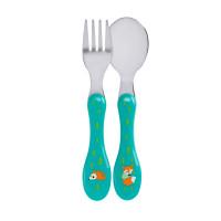 Kinderbesteck Cutlery Stainless Steel, Little Tree Fox