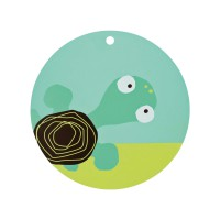 Tischset Placemat Silicone, Wildlife Turtle
