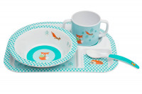 Geschirrset Dish Sets, Little Tree Fox